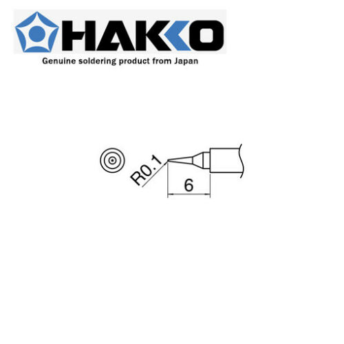 HAKKO Japan Soldering Station Tip I T30-I for ☆ FM-2032 R0.1 x 6mm Micro