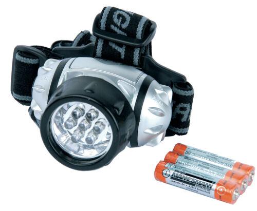 BRÜDER MANNESMANN LED-Stirnlampe schwenkbar mit 7 LEDs