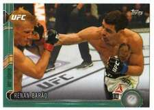 2015 Topps UFC Chronicles Green Parallel /288 #128 Renan Barao