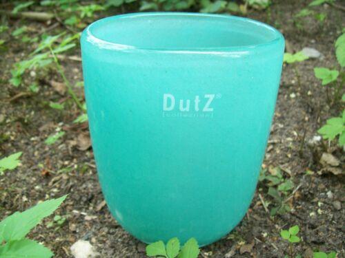 Dutz Collection Vase Jade Glas mundgeblasen oval glasvase 15 cm grün