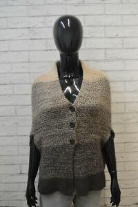 Maglione-MAX-MARA-Donna-Taglia-UNICA-Pullover-Cardigan-Sweater-Cashmere-Felpa
