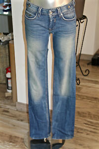 KAPORAL-jeans-regular-mod-ivica-used-taille-basse-taille-W25-EXCELLENT-ETAT