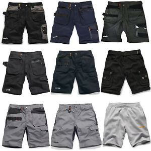629f9bb730 Scruffs Work Shorts TWIN PACK Men's Combat Cargo Trade Black Navy ...