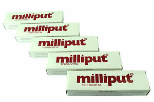5-Packs-Terracotta-Milliput-Epoxy-Putty-Modelling-Filler-Ceramic-Repair-X1016d