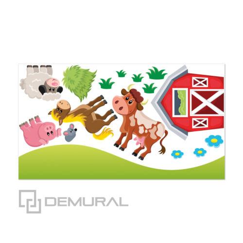 sticker autocollant de la ferme sdb7 Mural pour chambre enfant bébé