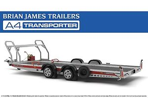 aoshima tuned parts sp brian james trailers a4 transporter. Black Bedroom Furniture Sets. Home Design Ideas
