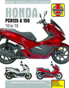 Honda-PCX125-150-2010-2019-Repair-Manual