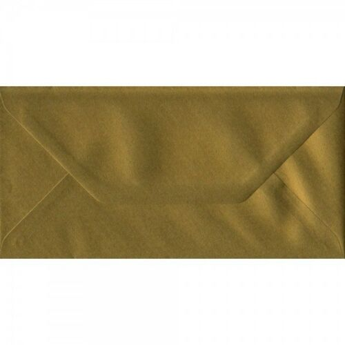 10 x DL Coloured Envelopes Party Invitations Craft Greeting Card 110x220mm 4x8.5