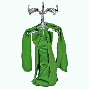 Mannequin-Jewellery-Display-Stand-Necklace-Holder-Lady-Figure-Dress-Gift-Green