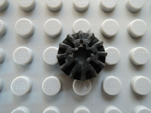 Lego 1  x Technic Zahnrad flach  12 Zähne 6589   schwarz