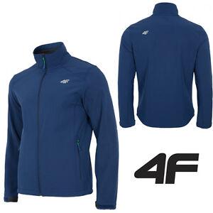 h qualité NEW-4F SFM001 hommes dwr aquatech softshell veste résistant eau