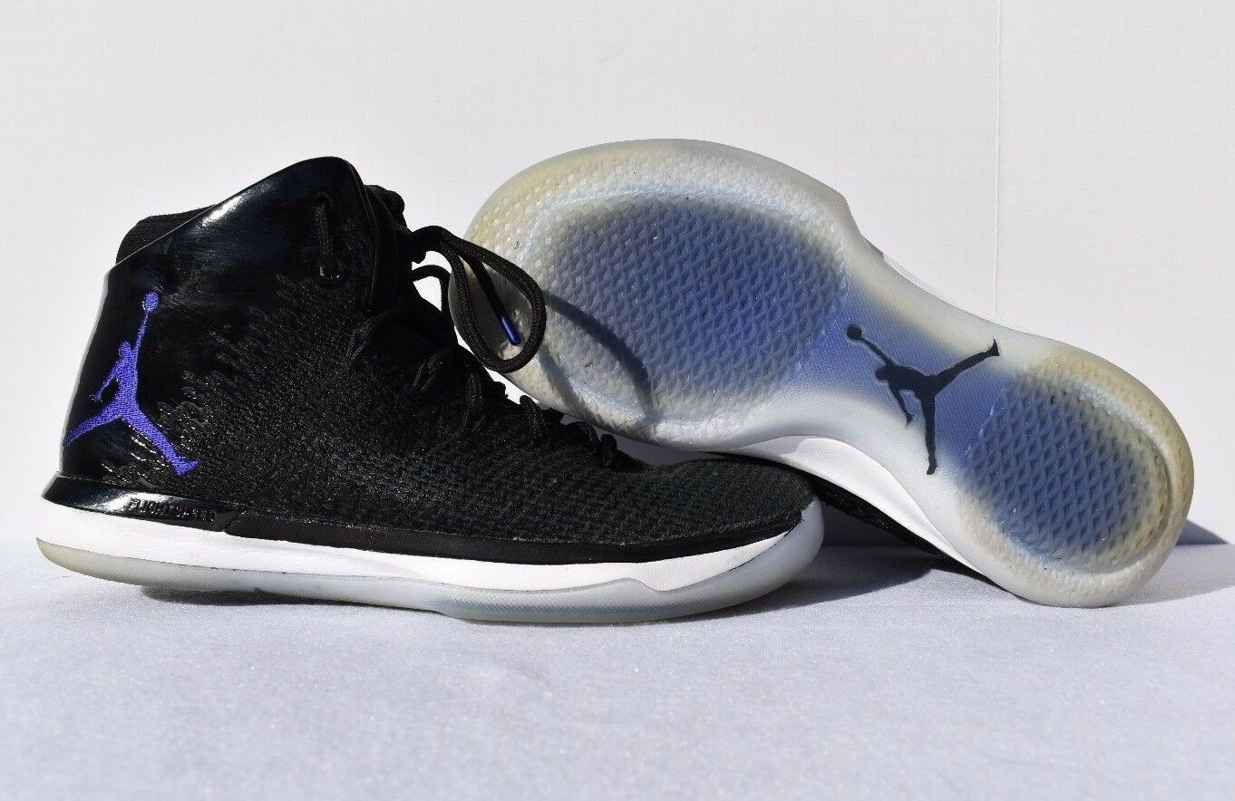 Nike Air Jordan 31 XXXI Space Jam Black and Concord Anthracite - Size 9