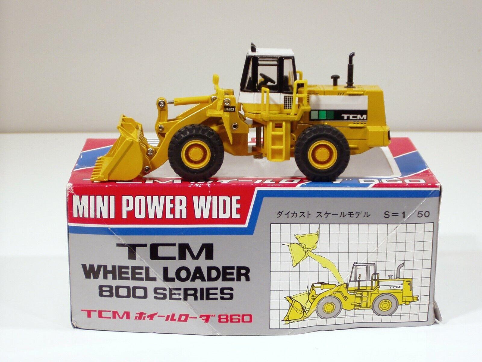 TCM 860 Wheel Loader - 1 50 - Shinsei  675 - En parfait état, dans sa boîte