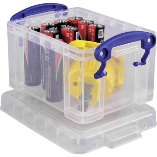 Really Useful Box Aufbewahrungsbox 0.3C Transparent 0.3 l B x H x T 120 x 65