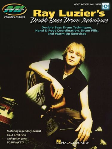 Ray Luzier/'s Double Bass Drum Techniques Private Lessons with Video 000126961