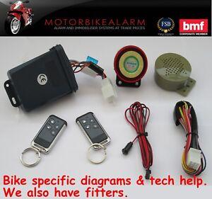 ncs c 11 talking motorbike motorcycle alarm immobiliser remote rh ebay com Alarm Panel Wiring Alarm Panel Wiring