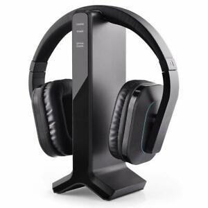 Avantree-2-4G-RF-Wireless-headphones-for-TV-Watching-w-Transmitter-Charging-Dock