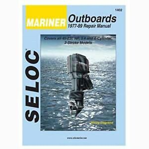 Seloc Service Manual, Mariner Outboards 1977-1989 #1402