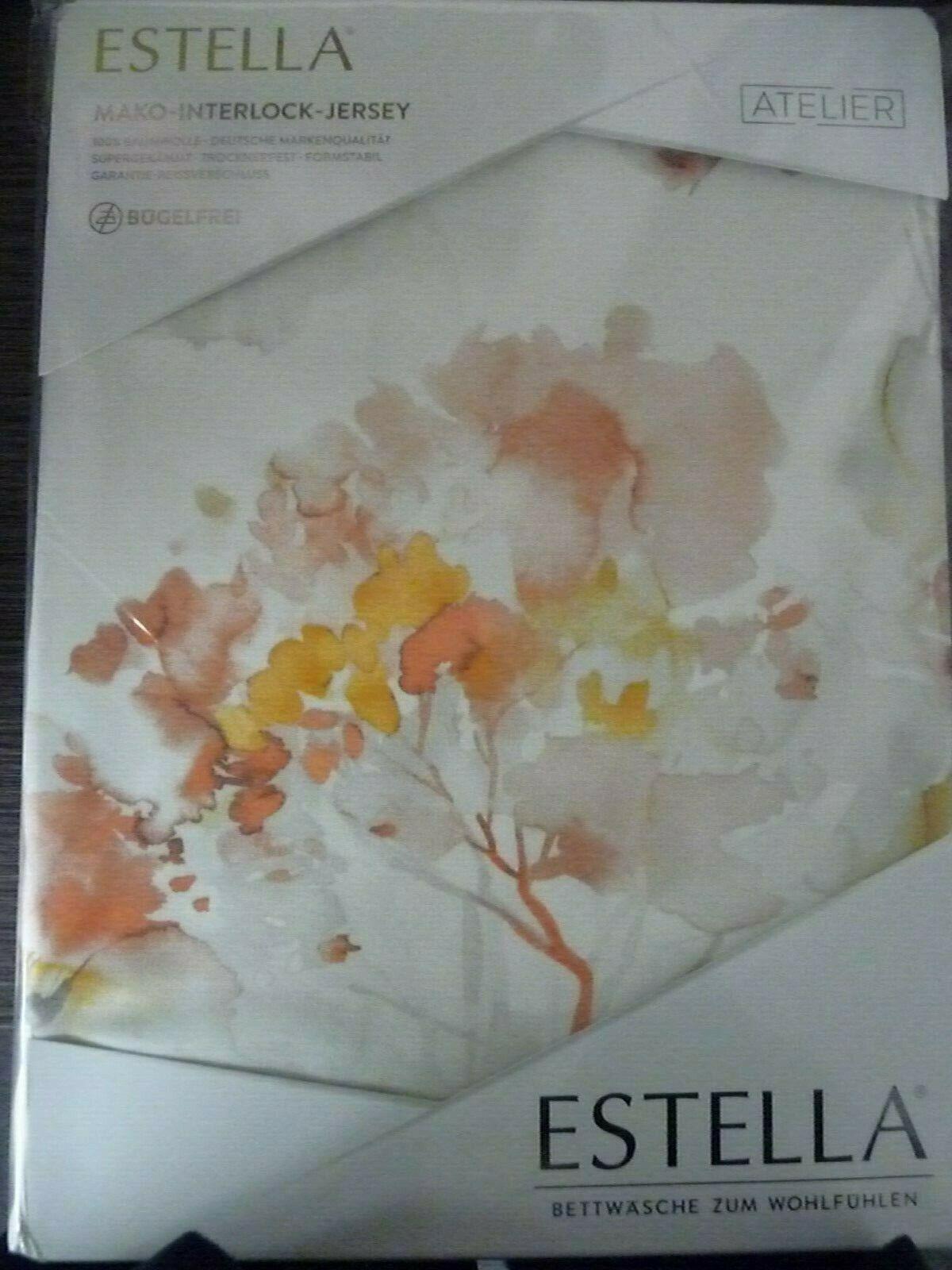 Estella Jersey Bettwäsche 155x220 Kunst. 6284 Fb. 230 Natur
