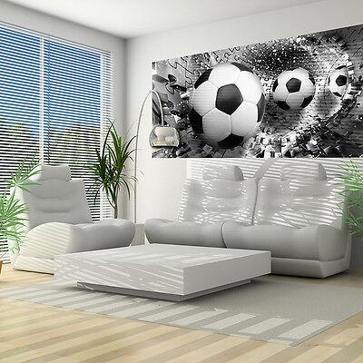 Zuversichtlich Vlies Fototapeten Fototapete Tapeten Tapete Poster Fussball Sport 3d 3fx3382vep