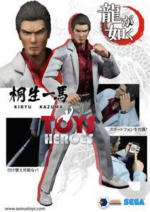 Asmus Toys Yaku01a Kiryu Kazuma Yakuza Figure ultime à collectionner 8 pièces Preor