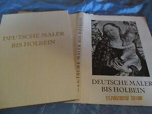 Gemaelde-Kunst-Bildband-1933-Deutsche-Maler-bis-Holbein-Kunstverein-Hannover