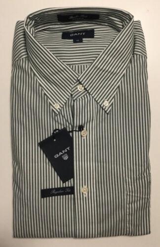 k19 Gant banquiers Shirt Ls BD nos nouveau chemise col Ivy Green taille XXL