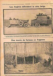 Tommies-British-Army-Armored-car-Bataille-de-l-039-Yser-Ecurie-en-Argonne-WWI-1915