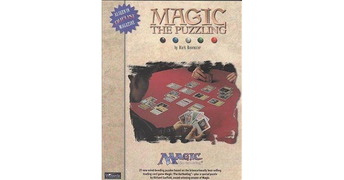 Livre pour Magic l'Assemblée - Magic the puzzling by Mark Rosewater - Wizards
