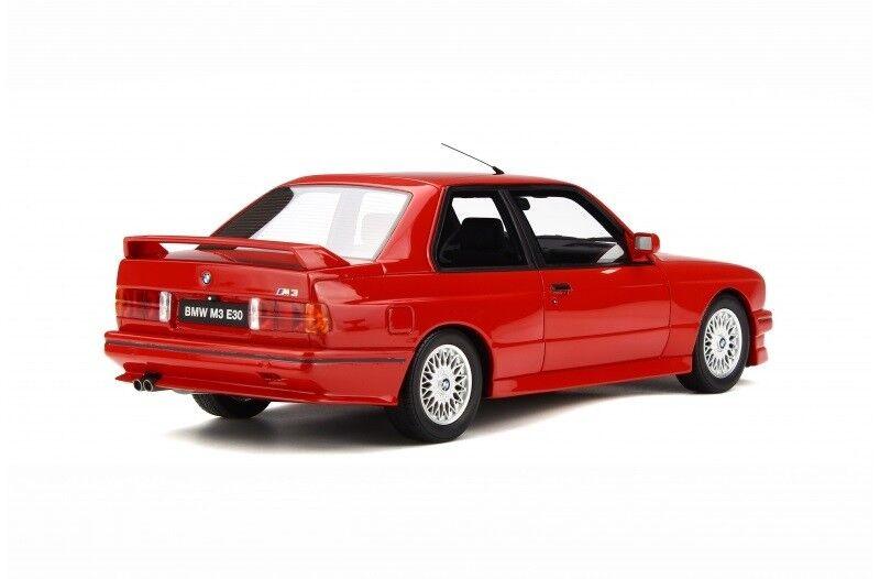 Modelbil, 1989 BMW M3 E30, skala 1:18