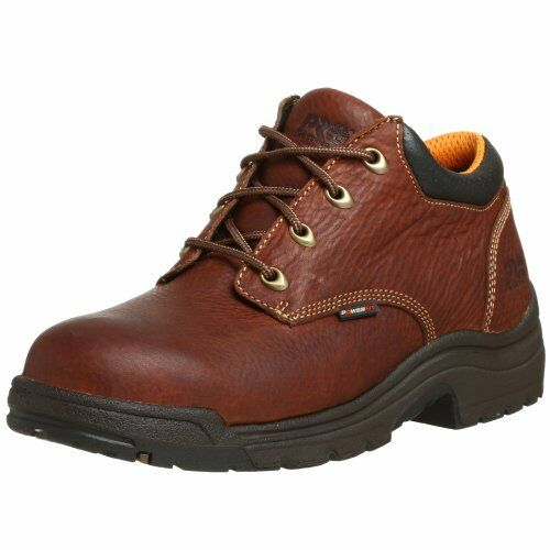 Timberland PRO Mens 47015 Titan Soft-Toe Lace-Up Oxford, Haystack Brown, 10 M US