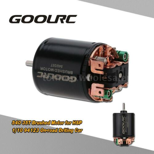 GoolRC 540 35T Brushed Motor for HSP 1//10 94123 On-road Driting Car TS U2H2