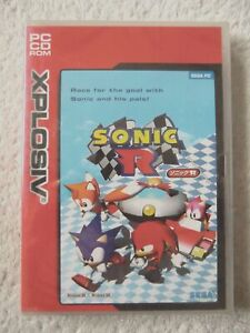 30106-Sonic-R-NEW-SEALED-PC-1998-Windows-XP-EI-1263