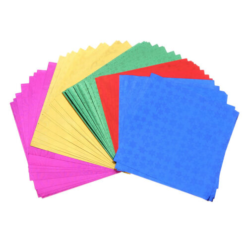 Papier origami se pliant coloré d/'hologramme pour l/'artisanat de bricolage