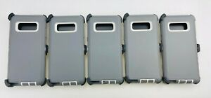 Lot For Samsung Galaxy Note 8 Rugged Case Cover (Clip )