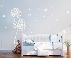 Details zu Wandtattoo Blume Babyzimmer Kinderzimmer Deko Wandaufkleber  Wandsticker w706e