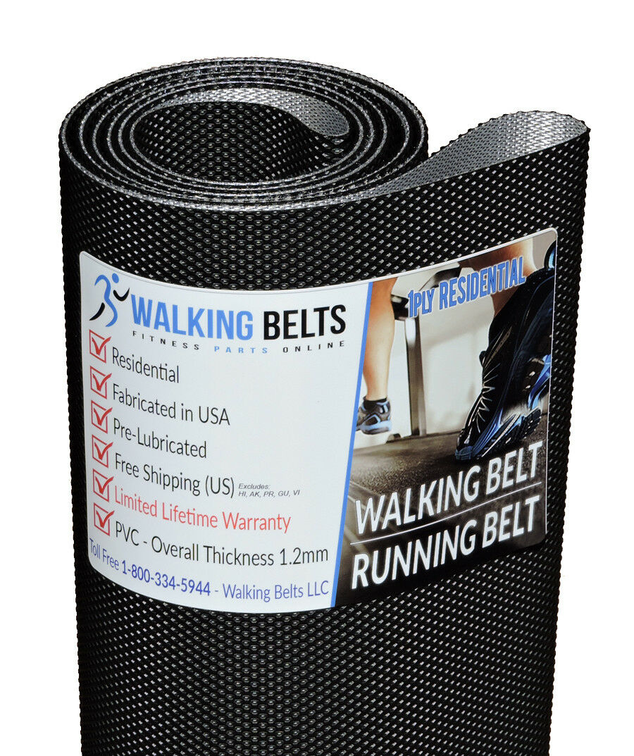 LiveStrong LS12.9T S/N: TM381 (2010) Treadmill Belt Walking Belt Treadmill + Free 1oz Lube aabcd8