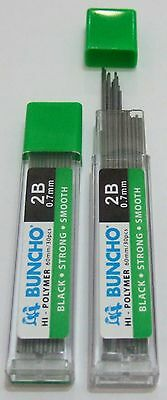 240x Faber-Castell Mechanical Pencil Refills Polymer Lead 0.7mm 2B 12 tubes