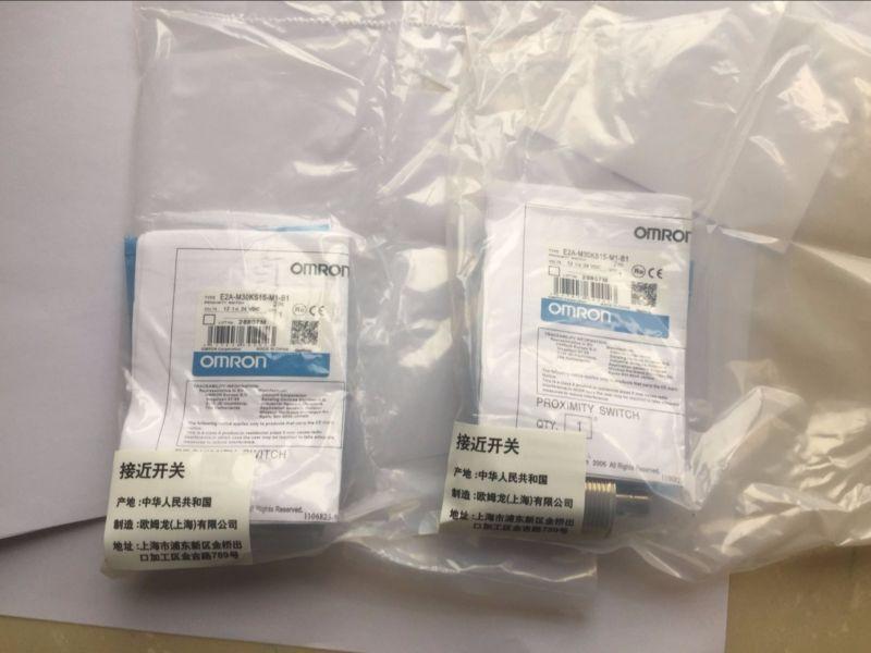1pcs Omron proximity switch E2B-M30KS15-WZ-B1 E2BM30KS15WZB1 new