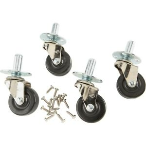 Fender-Amplifier-Casters-with-Hardware-Set-of-4