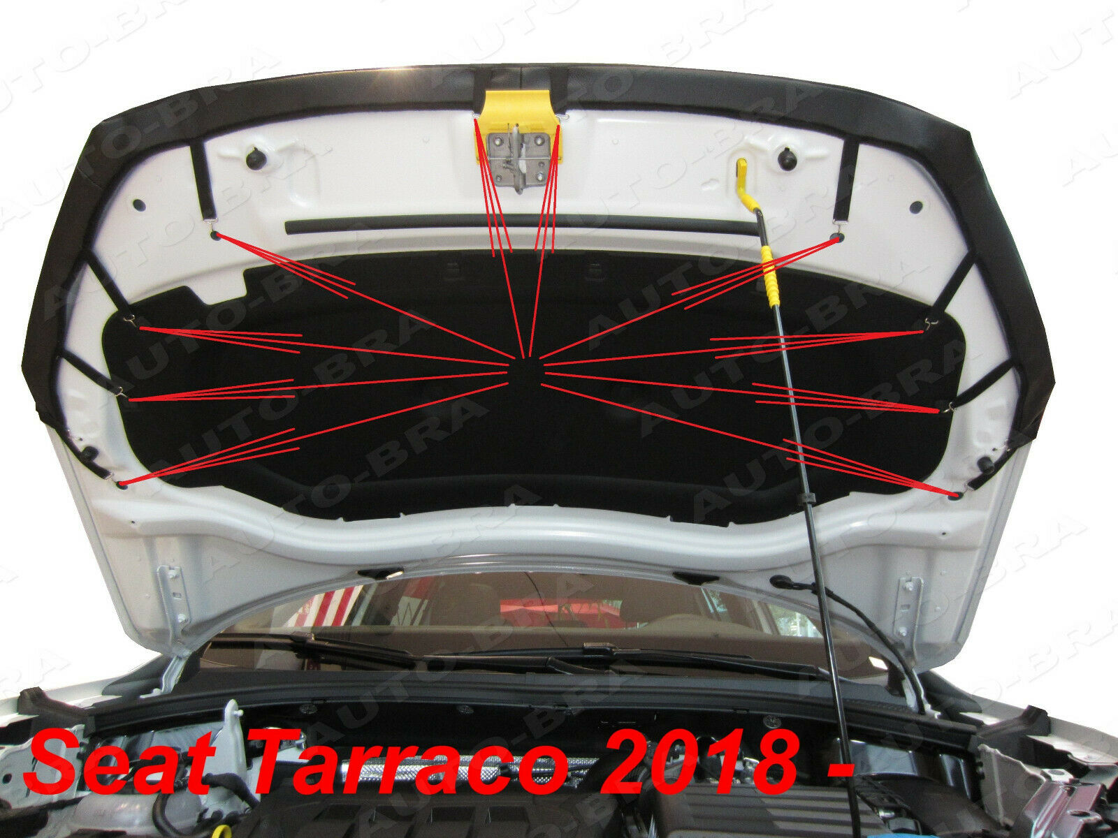 Haubenbra KIA Sportage 3 Car Bra Hood Bonnet Steinschlagschutz Automaske NEU