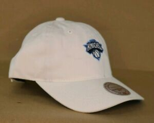 0fdf71c8 New York Knicks Mitchell & Ness NBA Powder Blue Dad Hat Strapback | eBay
