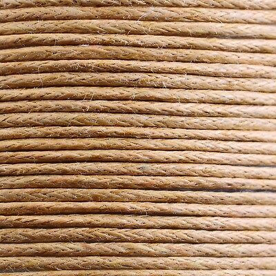 1 Roll 80M Waxed Cotton Macrame Cord Thread Rope String Wire 1/1.5mm Finding Hot