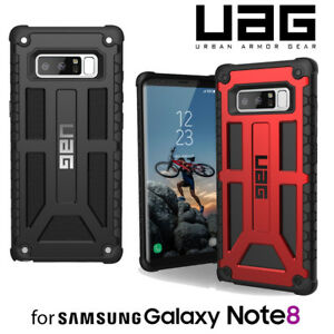 new concept 7269a 655e8 Details about Urban Armor Gear UAG Samsung Galaxy Note 8 Monarch Premium  Tough Case Cover NEW