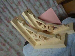 wooden-gingerbread-shelf-brackets-supports-corbels-handmade