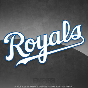 aec685f02 Image is loading Kansas-City-Royals-Jersey-Logo-Vinyl-Decal-Sticker-
