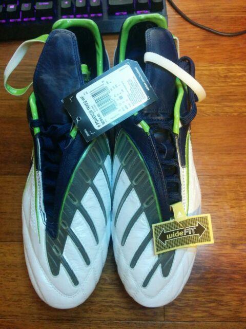 28b3faddb0b Adidas Predator Powerswerve FG Champions League WIDE FIT Soccer Shoes Size 9