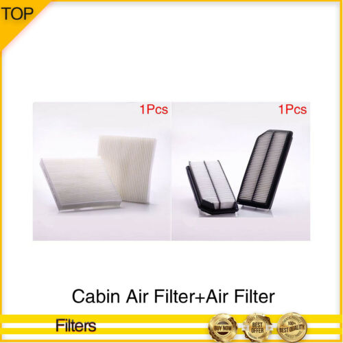 Pronto-Cabin Air Filter+Air Filter 2PCS Set For 2007-2008 ACURA TL V6 3.2L