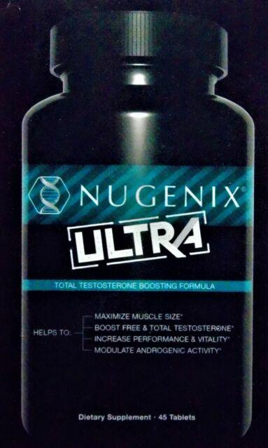 Nugenix Ultra Total Testosterone Boosting Formula Supplement 45 Tablets for sale online eBay
