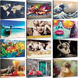 Quadro-moderno-120x90-100x70-Quadri-Moderni-Stampa-tela-Canvas-XXL-Astratti-Arte